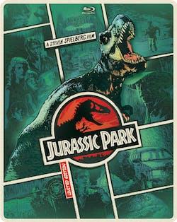 Jurassic Park (Limited Edition Steelbook DVD + Digital + Ultraviolet) [Blu-ray]