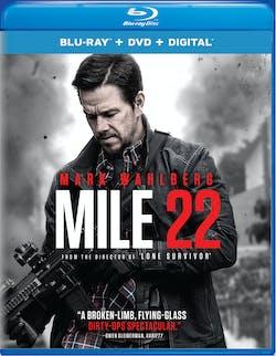 Mile 22 (DVD + Digital) [Blu-ray]