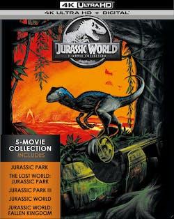 Jurassic World: 5-movie Collection (4K Ultra HD) [Blu-ray]