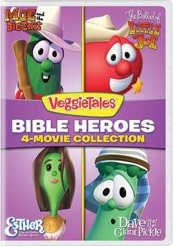 VeggieTales: Bible Heroes - 4-Movie Collection [DVD]
