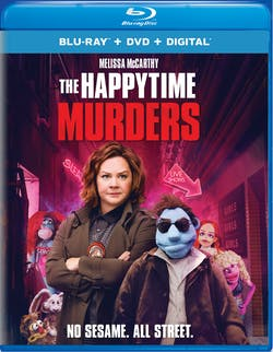 The Happytime Murders (DVD + Digital) [Blu-ray]