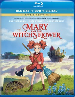 Mary and the Witch's Flower (DVD + Digital) [Blu-ray]