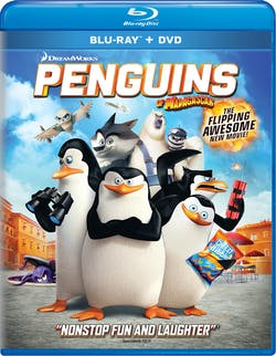 Penguins of Madagascar (Digital) [Blu-ray]