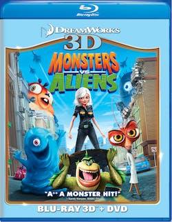 Monsters Vs Aliens 3D (Combo Pack) [Blu-ray]