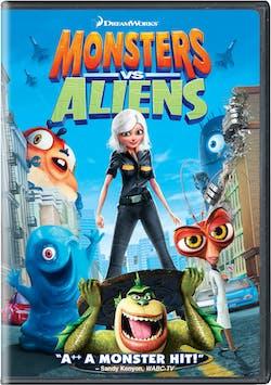 Monsters Vs Aliens (2009) [DVD]