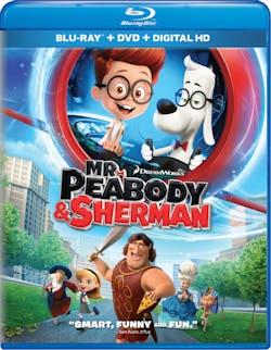 Mr. Peabody and Sherman (DVD + Digital) [Blu-ray]