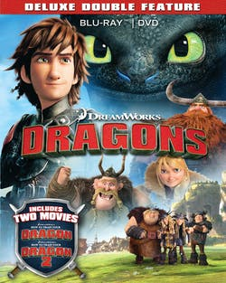 How to Train Your Dragon 1 & 2 (Deluxe Double Feature + Digital) [Blu-ray]
