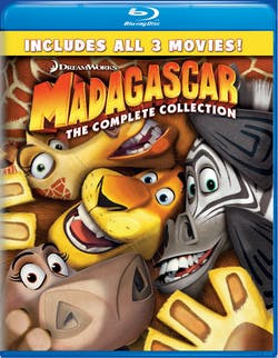 Madagascar: The Complete Collection [Blu-ray]