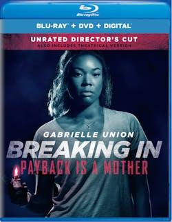 Breaking In (Unrated Director's Cut + DVD + Digital) [Blu-ray]