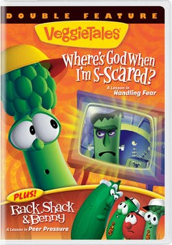 VeggieTales: Where's God When I'm S-scared??/Rack Shack & Benny [DVD]