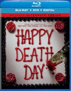 Happy Death Day (DVD + Digital) [Blu-ray]