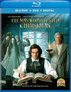 The Man Who Invented Christmas (DVD + Digital) [Blu-ray]