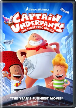 Captain Underpants: The First Epic Movie (2018) [DVD]
