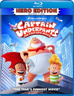 Captain Underpants: The First Epic Movie (Hero Edition) [Blu-ray]