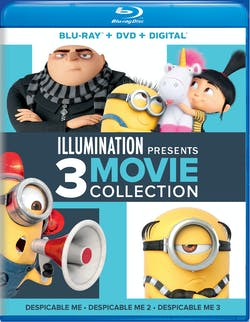 Illuminatiion Presents: Despicable Me 3-Movie Collection (DVD + Digital) [Blu-ray]