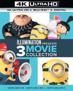 Despicable Me 1-3 (4K Ultra HD) [UHD]