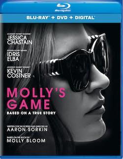 Molly's Game (DVD + Digital) [Blu-ray]