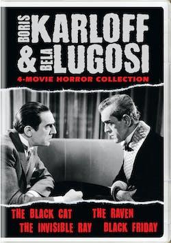Boris Karloff and Bela Lugosi Horror Classics Collection [DVD]