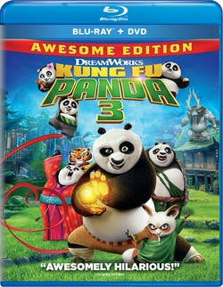 Kung Fu Panda 3 (Awesome Edition + Digital) [Blu-ray]