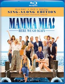 Mamma Mia! Here We Go Again (Sign-Along Edition DVD + Digital) [Blu-ray]