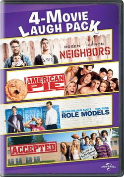 Neighbors/American Pie/Role Models/Accepted [DVD]