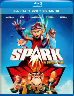 Spark: A Space Tail (DVD) [Blu-ray]