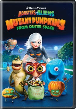 Monsters Vs Aliens: Mutant Pumpkins from Outer Space [DVD]