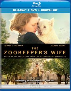 The Zookeeper's Wife (DVD) [Blu-ray]