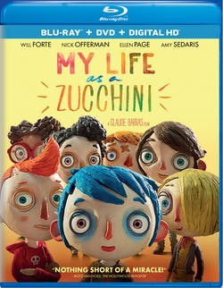 My Life As a Courgette (DVD + Digital) [Blu-ray]