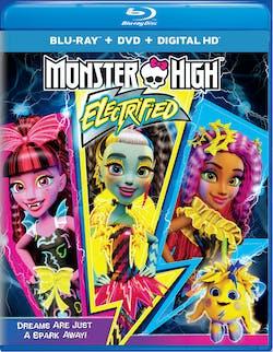 Monster High: Electrified (DVD) [Blu-ray]