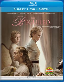 The Beguiled (2017) (DVD) [Blu-ray]