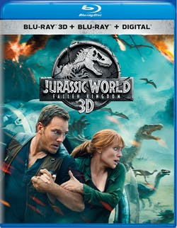 Jurassic World - Fallen Kingdom 3D [Blu-ray]
