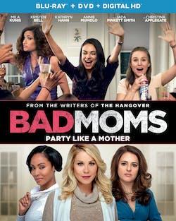Bad Moms (DVD + Digital) [Blu-ray]