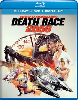Roger Corman's Death Race 2050 (DVD + Digital) [Blu-ray]