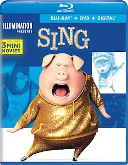 Sing (Special Edition DVD + Digital) [Blu-ray]