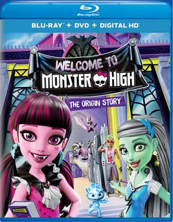 Monster High: Welcome to Monster High (DVD) [Blu-ray]