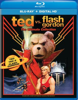 Ted vs. Flash Gordon: The Ultimate Collection (Box Set) [Blu-ray]