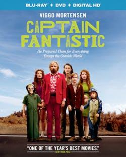 Captain Fantastic (DVD + Digital) [Blu-ray]