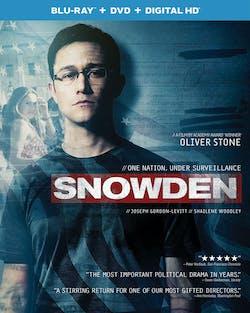 Snowden (DVD + Digital) [Blu-ray]