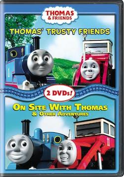 Thomas & Friends: Thomas' Trusty Friends/On Site with Thomas [DVD]