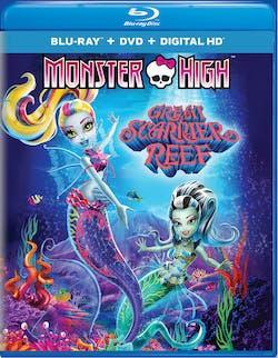 Monster High: Great Scarrier Reef (DVD + Digital) [Blu-ray]