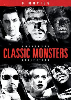 Universal Classic Monsters Collection (Box Set) [DVD]