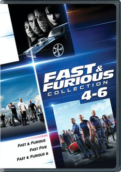 Fast & Furious Collection: 4-6 [DVD]