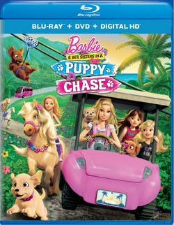 Barbie and Her Sisters in a Puppy Chase (DVD) [Blu-ray]