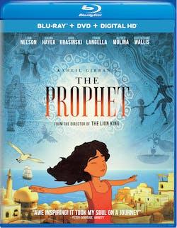 Kahlil Gibran's The Prophet (DVD + Digital) [Blu-ray]
