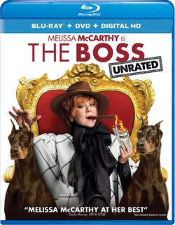 The Boss (Unrated Edition DVD) [Blu-ray]