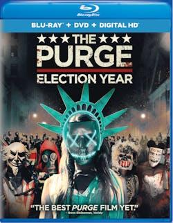The Purge: Election Year (DVD + Digital) [Blu-ray]