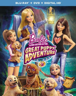 Barbie and Her Sisters in the Great Puppy Adventure (DVD + Digital) [Blu-ray]