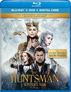 The Huntsman: Winter's War (Extended Edition DVD) [Blu-ray]