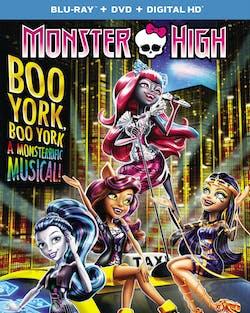 Monster High: Boo York! Boo York! (DVD + Digital) [Blu-ray]